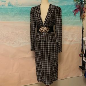 Vintage 2 piece Midi Skirt suit